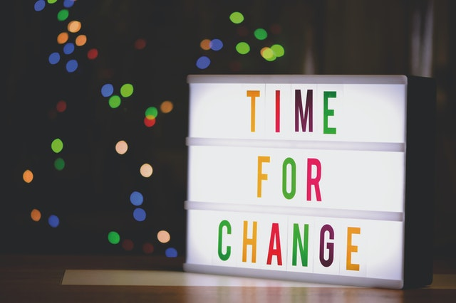 time for a change in your business
